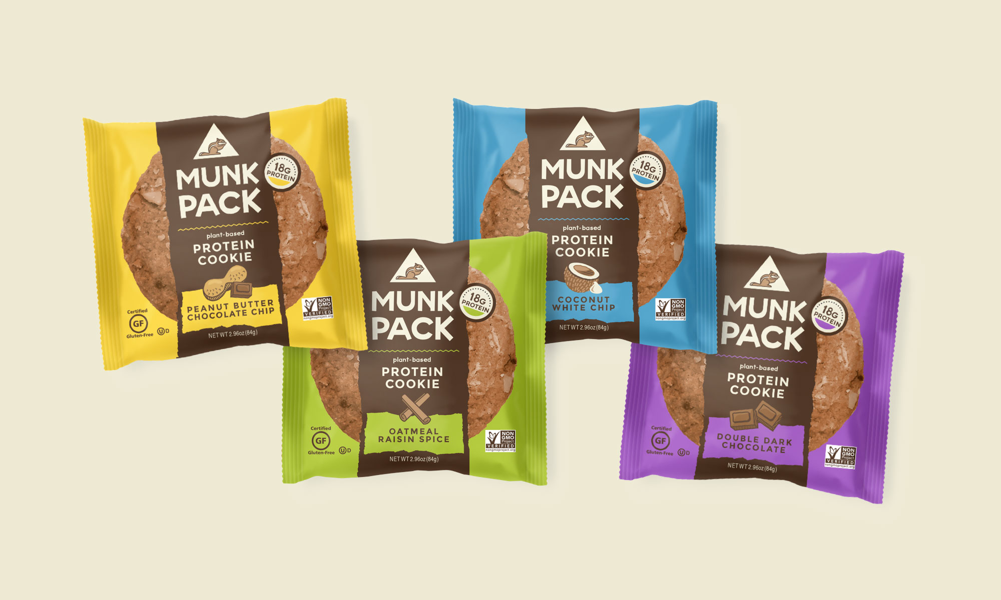 Munk Pack brand identity by motto
