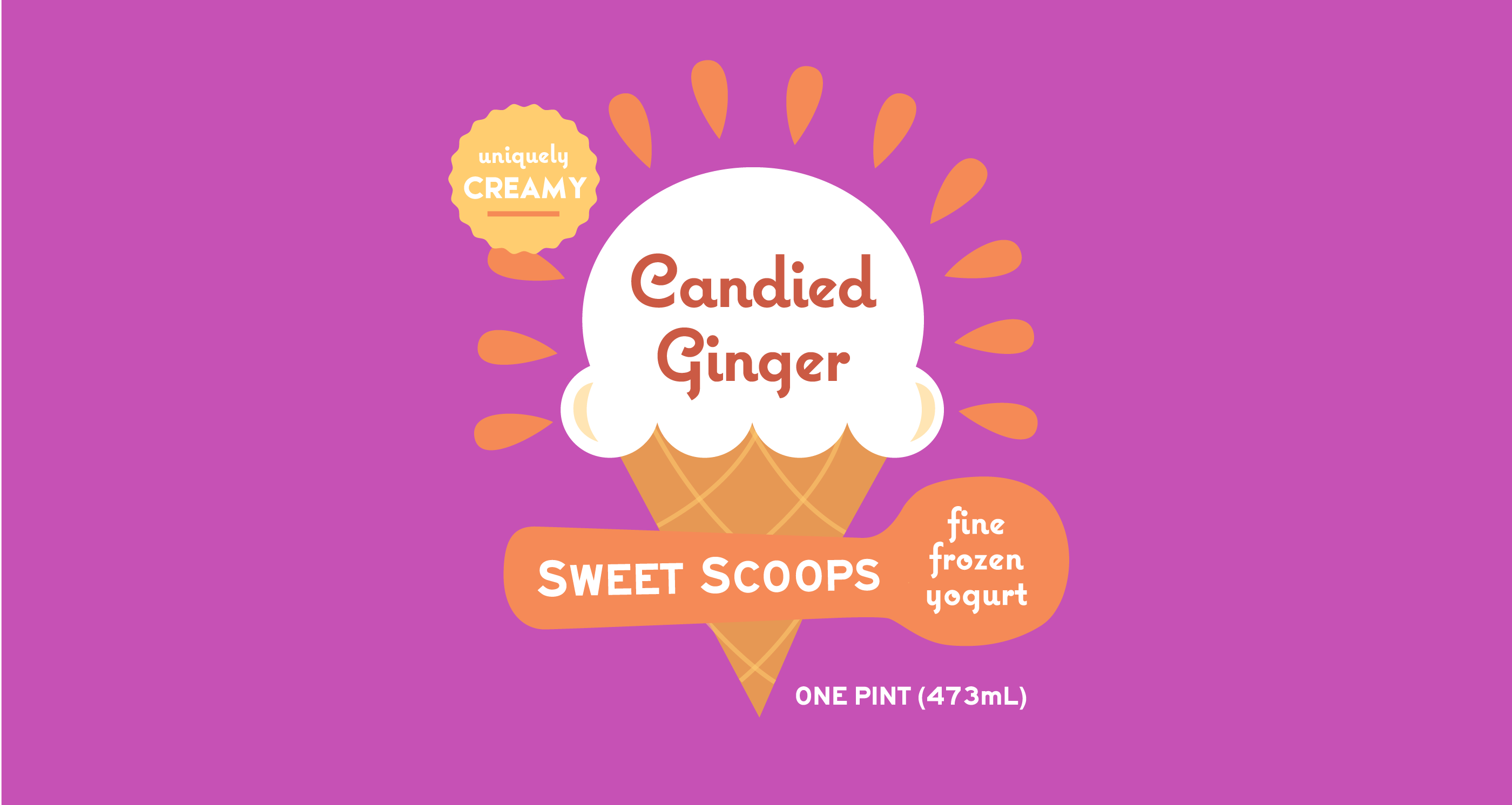 Sweet Scoops Branding by Motto