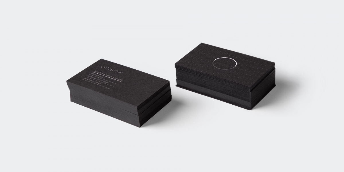 Orison Business Cards by Motto