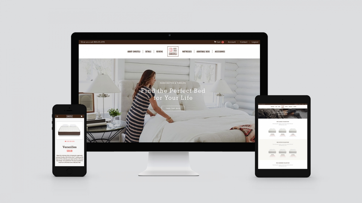 Christeli Website by Motto