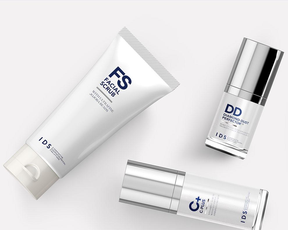 IDS Skincare Branding Motto
