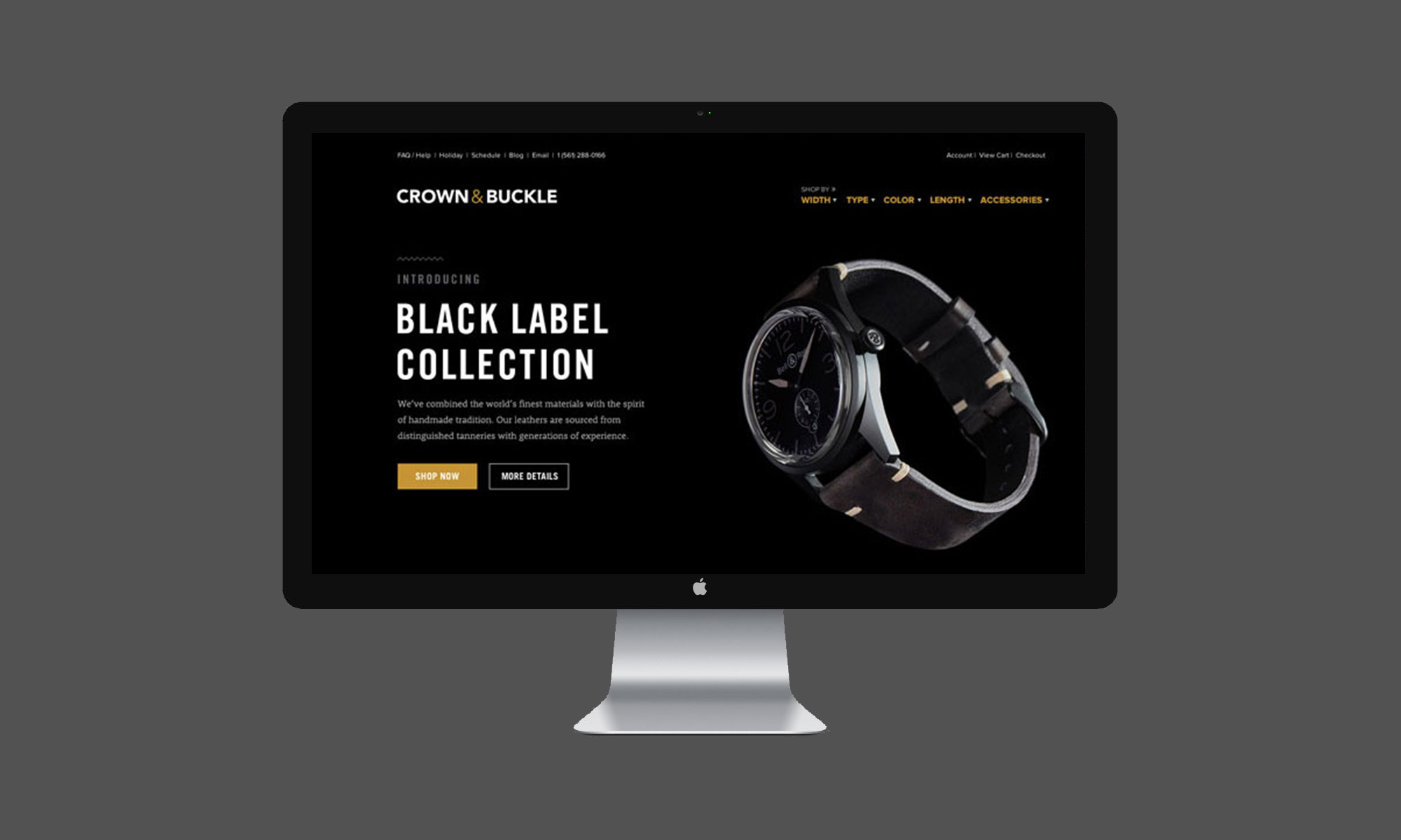 crown and buckle branding