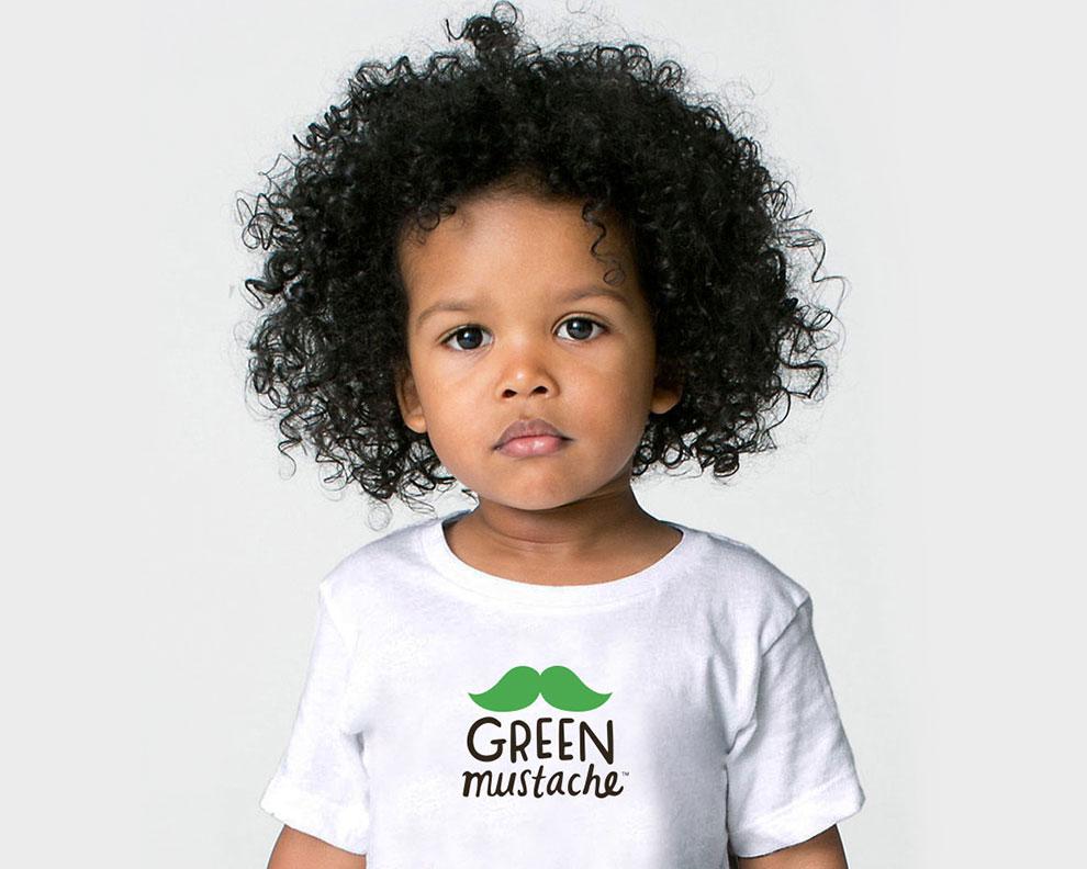 Green Mustache Branding Motto