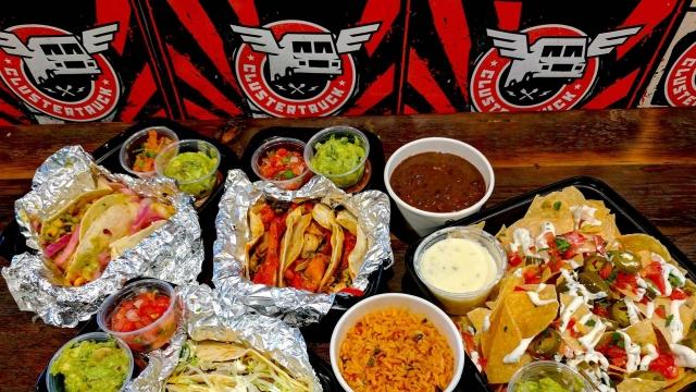 Clustertruck tacos