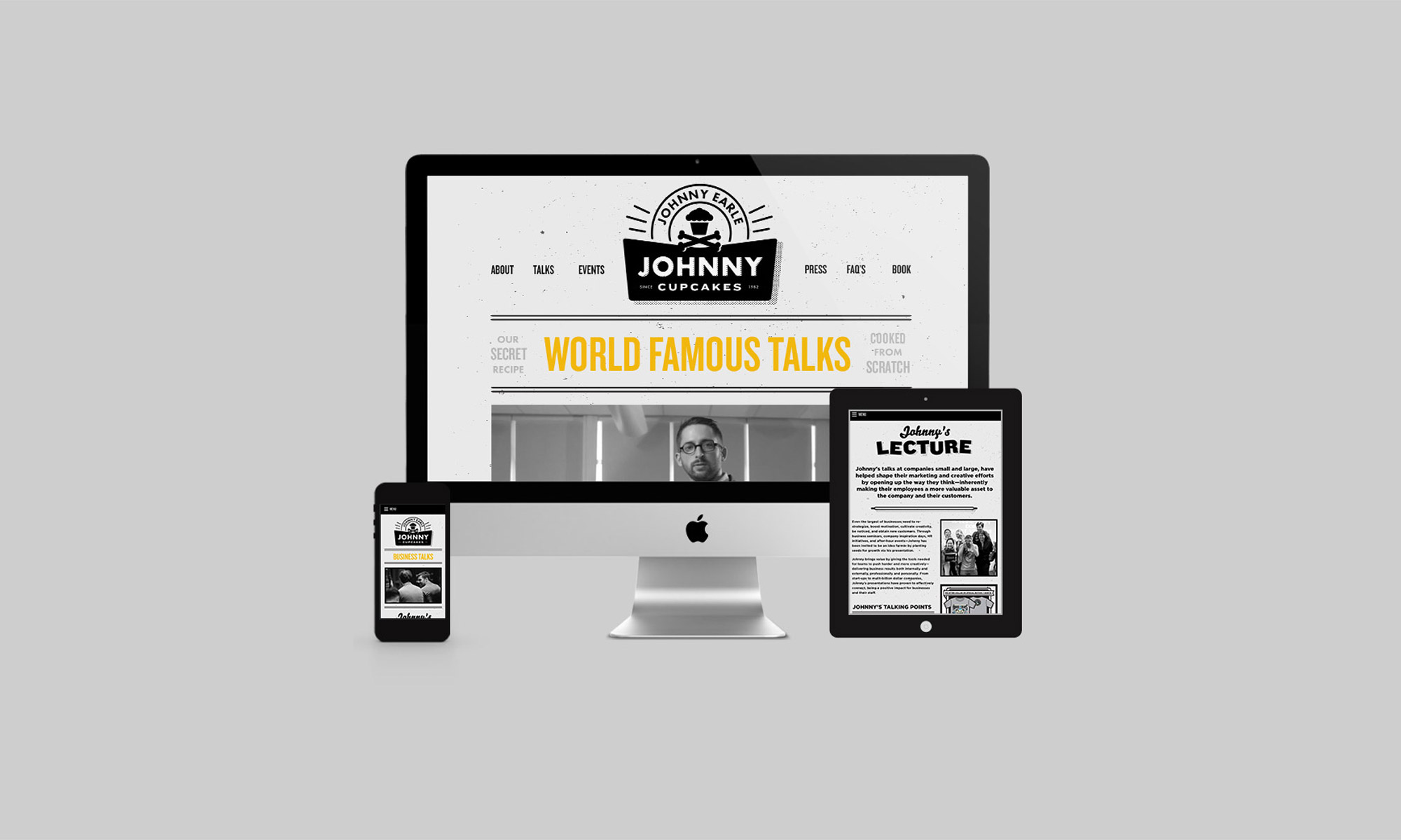 johnny cupcakes motto branding