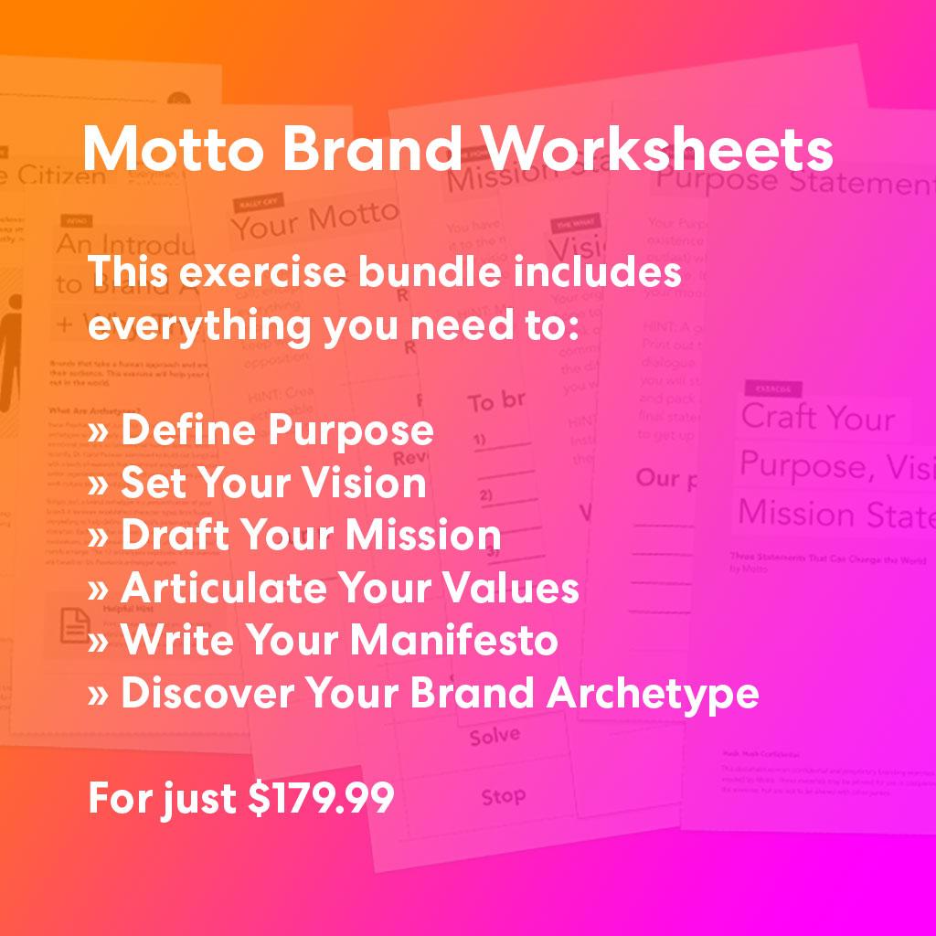 Branding Workbook Bundle