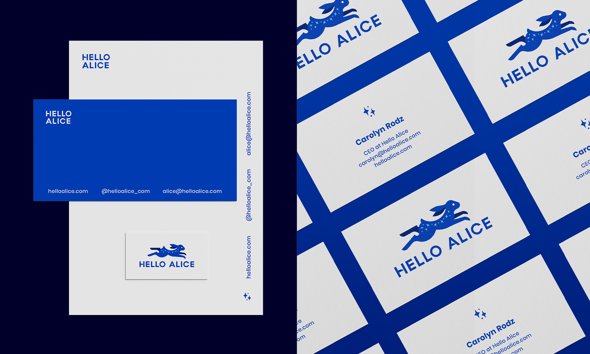 hello alice branding by motto